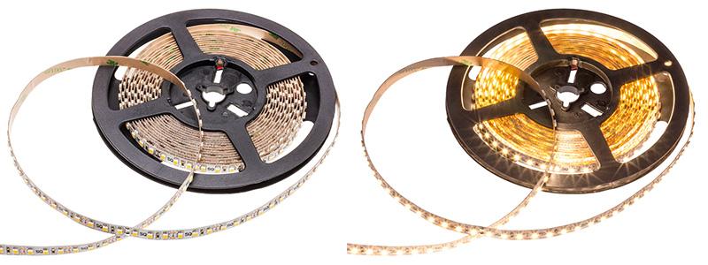 LED pásek pod linku