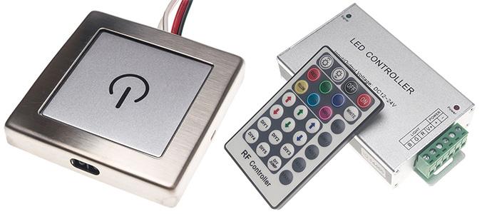 Ovladace pro LED pásek